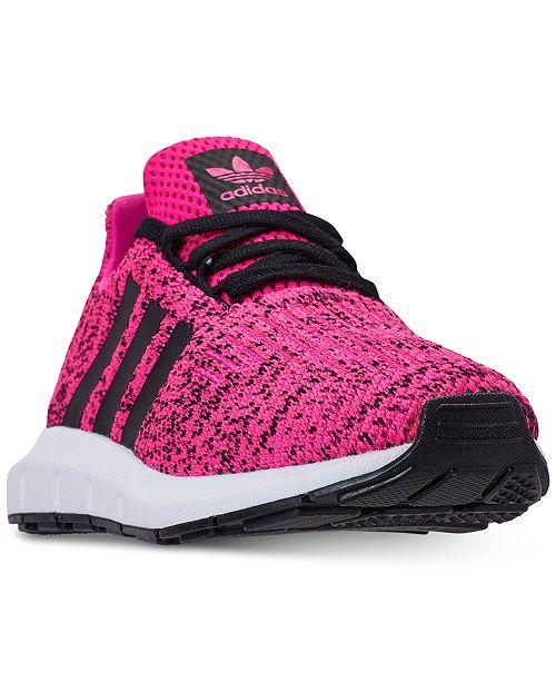 adidas Little Girls  Swift Run Running Sneakers from Finish Line ... 79080f304