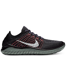 Nike Women's Free Run Flyknit 2018 Running Sneakers from Finish Line