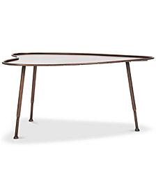 Tessa Heart Coffee Table, Quick Ship