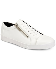 Calvin Klein Men's Ibrahim Box Leather Sneakers