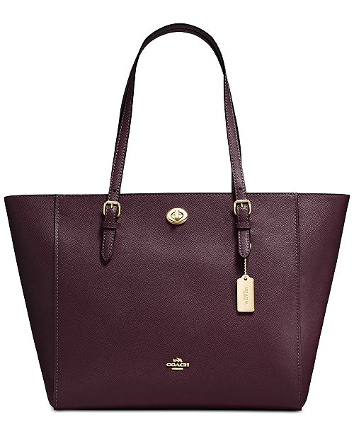 b548573f0ede COACH Laptop Tote in Crossgrain Leather   Reviews - Handbags ...