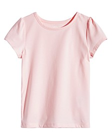 Little Girls Solid T-Shirt, Created for Macy's