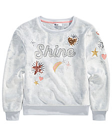 Epic Threads Big Girls Shine Sweatshirt, Created for Macy's