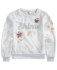 Epic Threads Big Girls Shine Sweatshirt, Created for Macy's