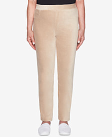 Alfred Dunner Petite Home for the Holidays Corduroy Tapered Leggings