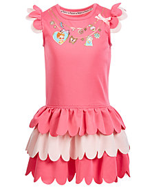 Disney Little Girls Fancy Tiered Ruffle Dress