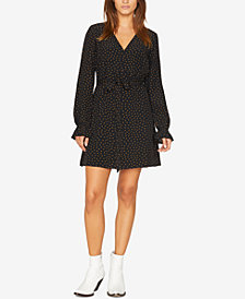 Sanctuary Ellie Tie-Belt Polka-Dot Dress