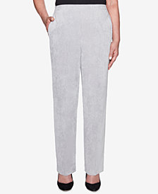 Alfred Dunner Petite Stocking Stuffers Corduroy Pull-On Pants