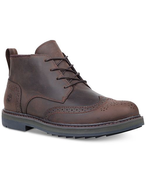 moderate cost real deal pretty and colorful Timberland Men's Squall Canyon Wingtip Chukka Boots ...
