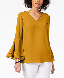 Alfani Bell-Sleeve Blouse, Created for Macy's