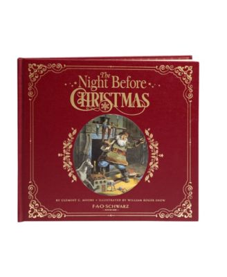 FAO Schwarz Book A Night Before Christmas Book