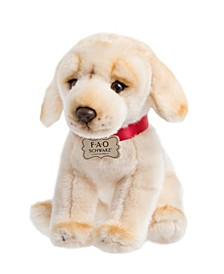 Toy Plush Puppy Floppy Labrador 10inch