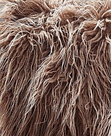 Faux Fur Throw Blanket, Super Soft Mongolian Fuzzy Light Weight Luxurious Cozy