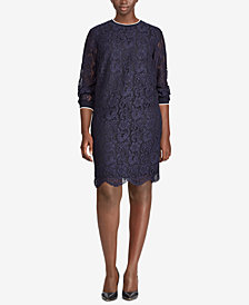 Lauren Ralph Lauren Plus Size Shift Dress
