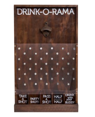 Wooden Drink-O-Rama