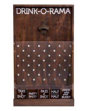 Studio Mercantile Wooden Drink-o-Rama - Brown