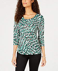 JM Collection Printed Embellished Jacquard, Created for Macy's