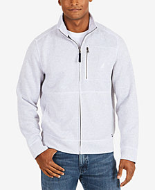 Nautica Men's Fleece Zip-Up Jacket