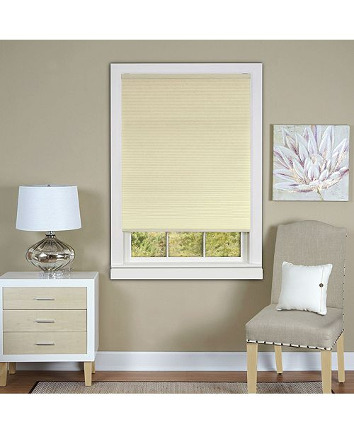 "Achim Cordless 45""x64"" Honeycomb Cellular Pleated Shade"