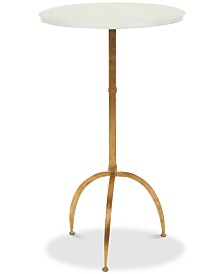Myrna Round Top Accent Table, Quick Ship