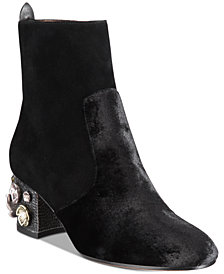 COACH Juliet Mid-Heel Ankle Boots