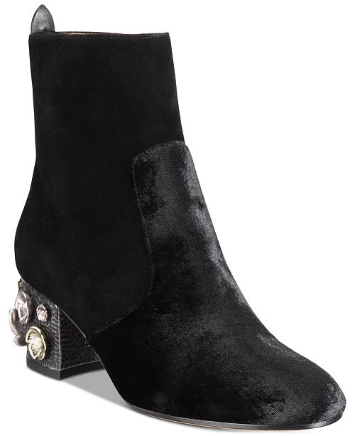 b0ad008e7024 COACH Juliet Mid-Heel Ankle Boots   Reviews - Boots - Shoes - Macy s