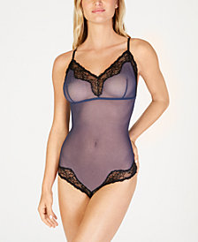 Maidenform Casual Comfort Cheeky Lace-Trim Bodysuit DMCCCB