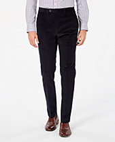 Tommy Hilfiger Men s Modern-Fit TH Flex Stretch Corduroy Dress Pants 1bdf2944de