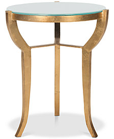 Ormond Mirror Top Accent Table, Quick Ship