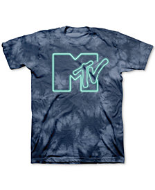 MTV Tie-Dyed Logo Men's Graphic T-Shirt