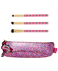Tarte 4-Pc. Glitz & Glamour Brush Set. A $51 Value!