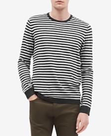 Calvin Klein Men's Striped Sweater