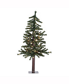 4' Natural Alpine Artificial Christmas Tree Unlit