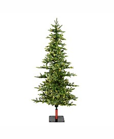 Vickerman 8' Shawnee Fir Artificial Christmas Tree with 450 Warm White LED Lights