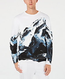 HUGO Men's Mountain Graphic Sweatshirt