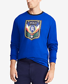 Polo Ralph Lauren Men's Downhill Skier Long-Sleeve  T-Shirt