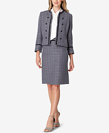 Tahari ASL Tweed Jacket & Pencil Skirt