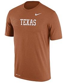 Nike Men's Texas Longhorns Legend Staff Sideline T-Shirt 2018