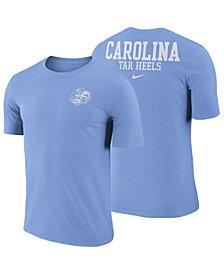 Nike Men's North Carolina Tar Heels Dri-FIT Cotton Stadium T-Shirt
