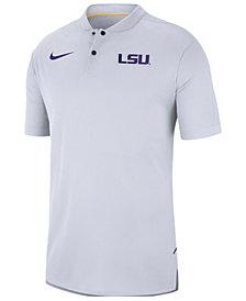 Nike Men's LSU Tigers Elite Coaches Polo 2018