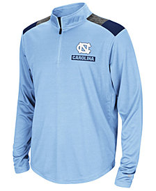 Colosseum North Carolina Tar Heels 99 Yards Quarter-Zip Pullover, Big Boys (8-20)