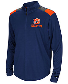 Colosseum Auburn Tigers 99 Yards Quarter-Zip Pullover, Big Boys (8-20)
