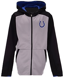 Outerstuff Indianapolis Colts Hi-Tech Full-Zip Hoodie, Big Boys (8-20)
