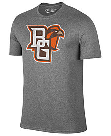 Retro Brand Men's Bowling Green Falcons Alt Logo Dual Blend T-Shirt