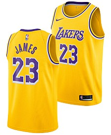 Nike LeBron James Los Angeles Lakers Icon Swingman Jersey, Big Boys (8-20)