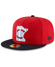 New Era Boys' Minnesota Twins Players Weekend 59FIFTY FITTED Cap