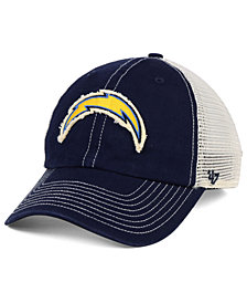 '47 Brand Los Angeles Chargers Canyon Mesh CLEAN UP Cap