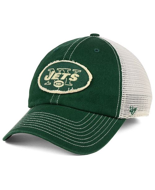 376fc9b11ab 47 Brand New York Jets Canyon Mesh CLEAN UP Cap - Sports Fan Shop By ...