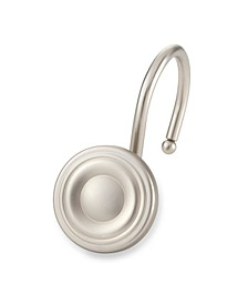Shower Hooks - Circle  - Brush Nickel