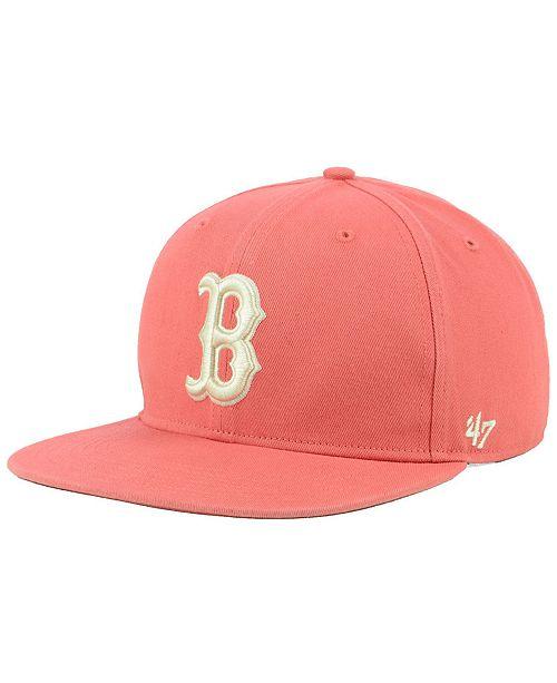 587efaafd88e1 47 Brand Boston Red Sox Island Snapback Cap - Sports Fan Shop By ...